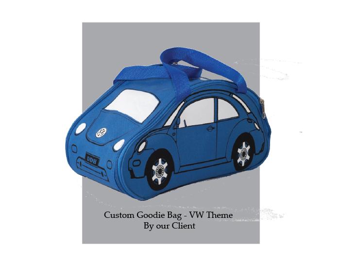 Tas Souvenir Ultah - VW Theme