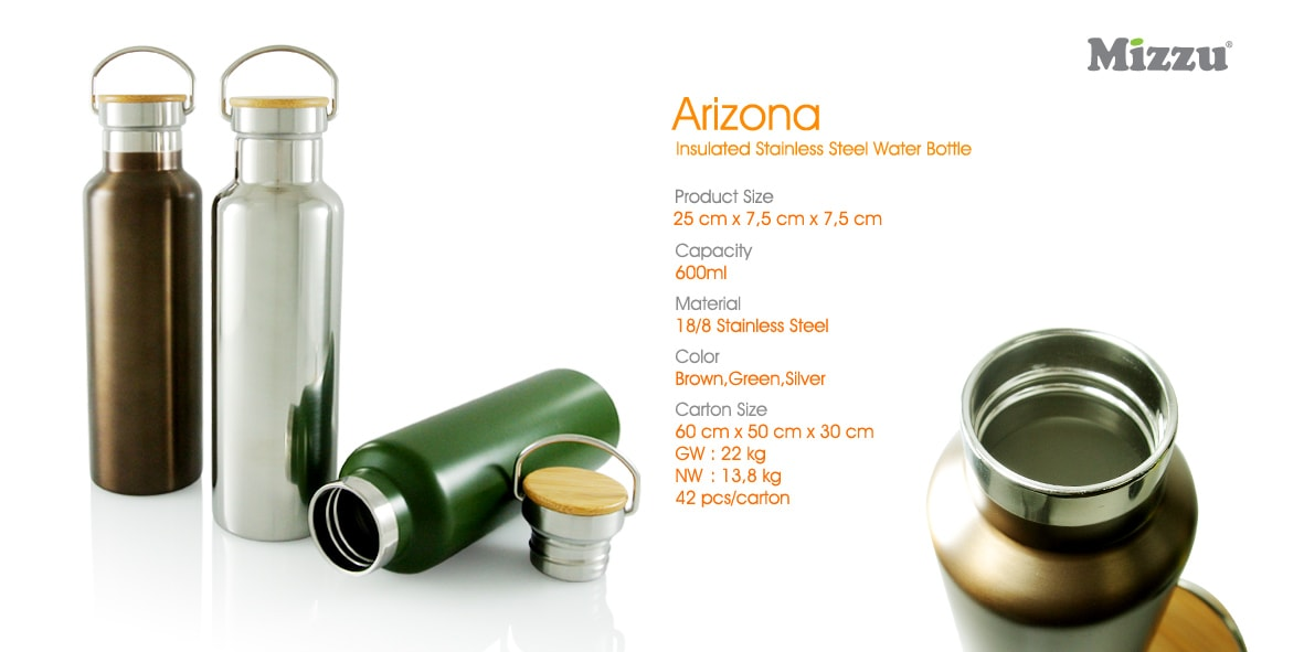 Arizona Tumbler Stainless Steel - Promosi