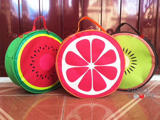 Tas Bulat - Fruit Theme