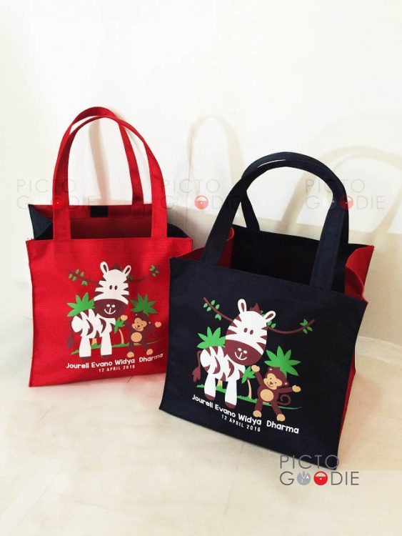 Tas Goodie Bag Bingkisan - Animal