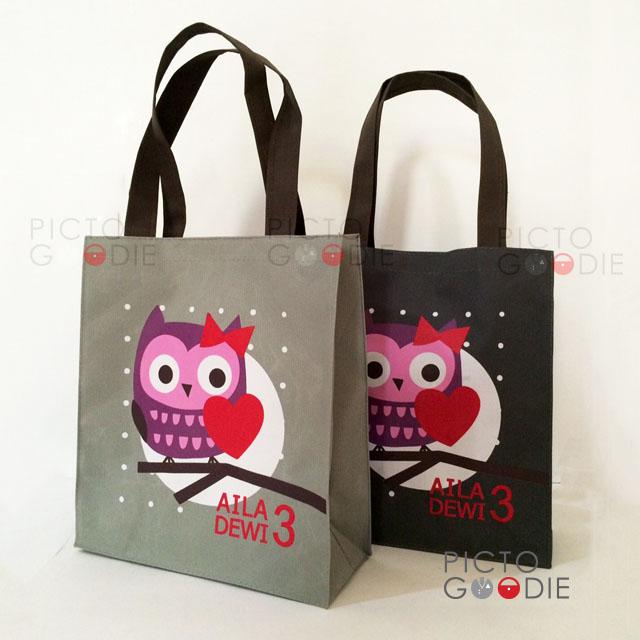 Tas Jinjing Owl Theme