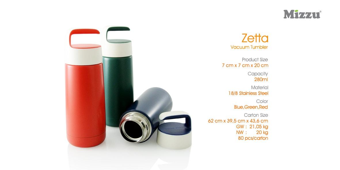 Zetta Vacuum Tumbler - Termos