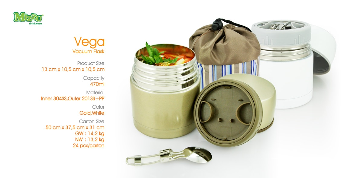 Vega Vacuum Food Jar