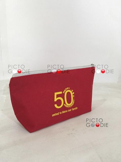 Souvenir Dompet Ultah ke 50