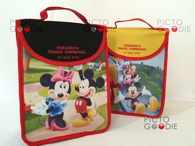 Tas Jinjing Anak Tutup Lidah - Mickey