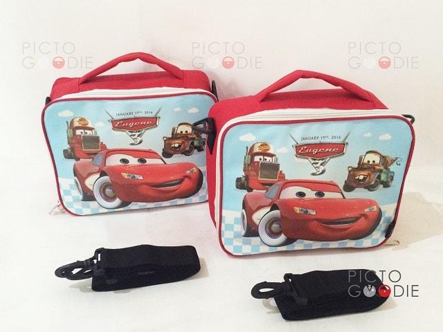 Tas Lunch Bag Anak - Cars