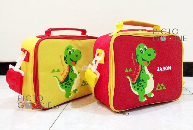 Tas Lunch Bag Anak - Dino