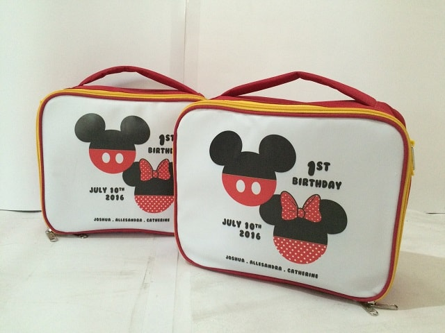 Tas Lunch Bag Anak - Mickey Minnie