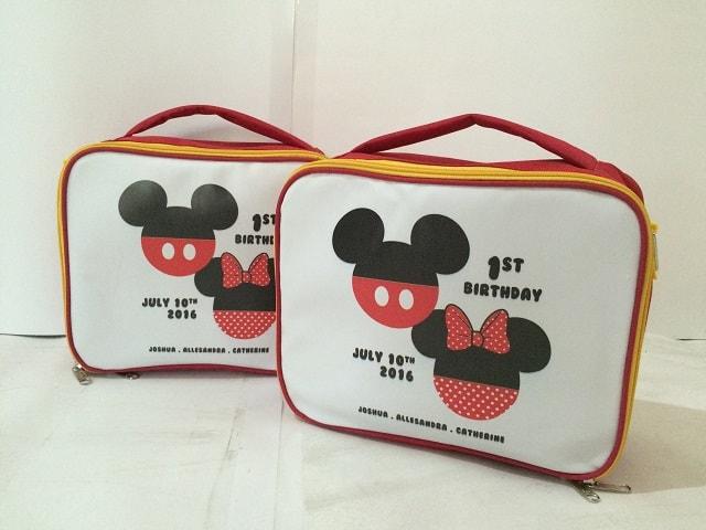 Tas Lunch Bag Anak - Mickey Minnie