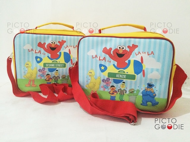 Tas Lunch Bag Anak - Sesame Street