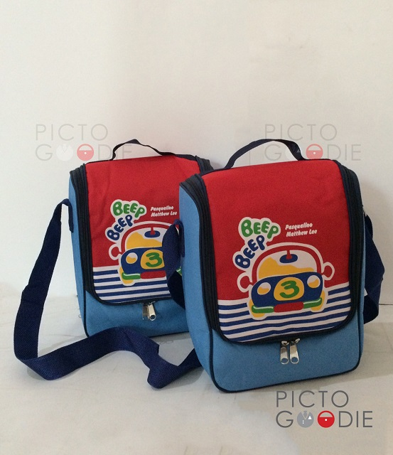 Tas Lunch Bag - Cars Theme 2