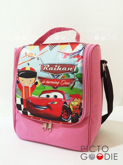 Tas Lunch Bag - Cars Theme