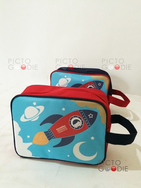 Tas Pouch - Rocket Theme