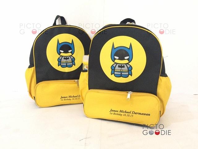 Tas Ransel 4 Ruang - Batman