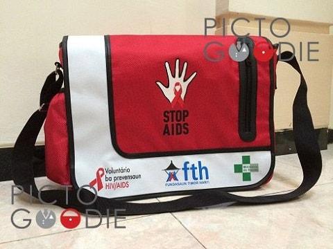 Tas Selempang Kampanye Stop AIDS - Papua