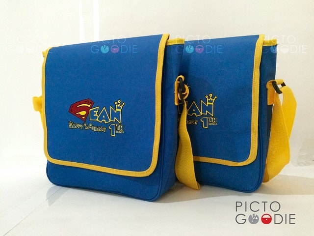 Tas Selempang - Superman Theme