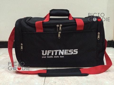 Tas Gym Bag Promosi - Ufitness - Jakarta