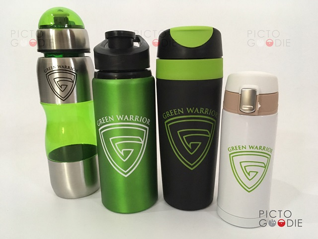 Tumbler Promosi - Green Warrior
