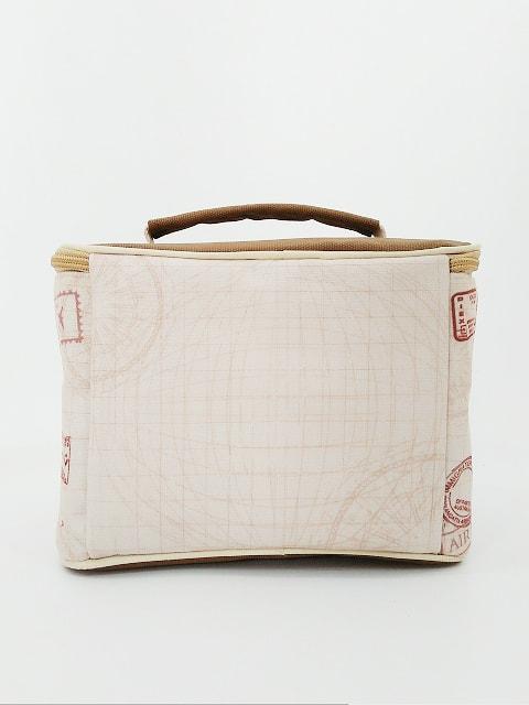 Tas Lunch Bag Kanvas - Tampak Belakang
