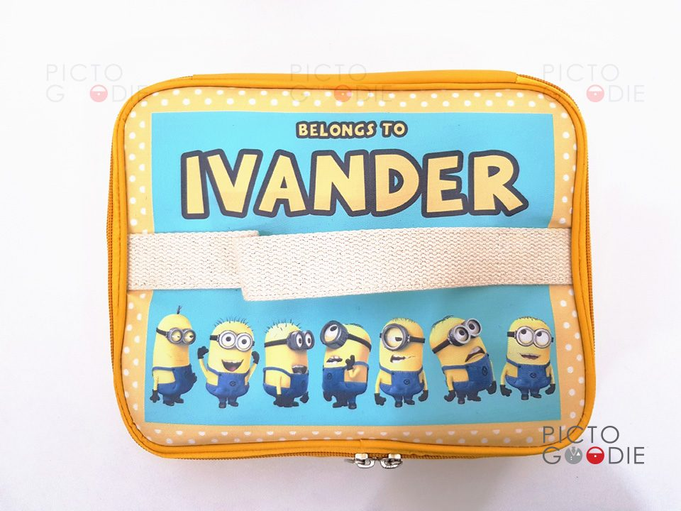 Tas Lunch Bag - Aluminium Foil - Minion Atas
