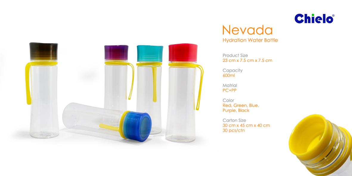 Botol Plastik Nevada Sablon - Murah