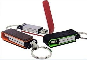 Souvenir Flashdisk Kulit - Premium - Portfolio
