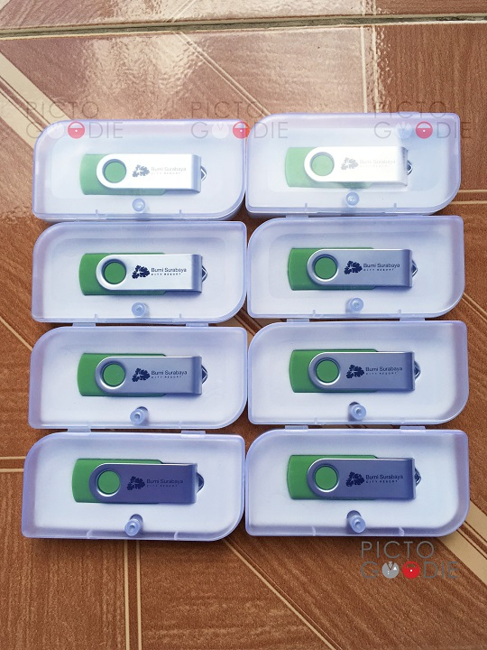 Flashdisk Hotel Bumi + Packaging PP