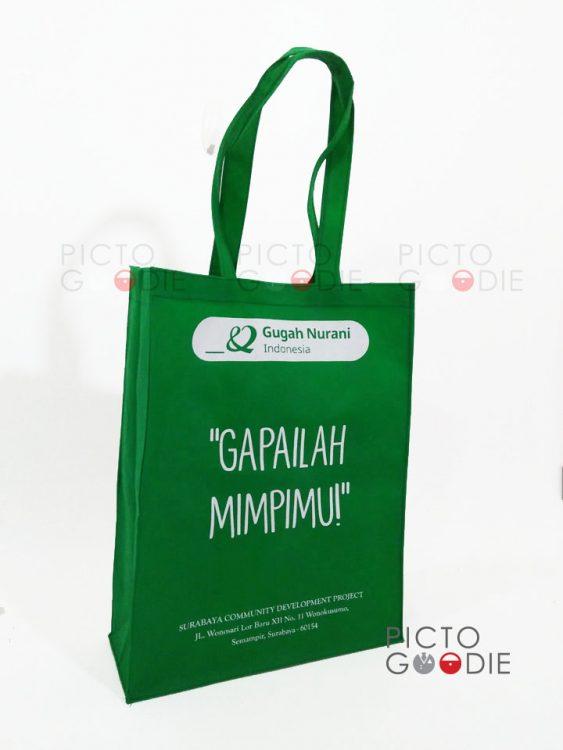 Tas Spunbond - Gugah Nurani - Jakarta