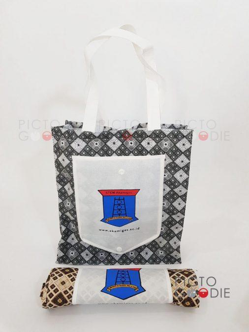 Tas Spunbond - Kombinasi Batik - Cepu