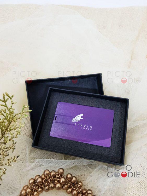 Flashdisk Kartu + Packaging Hardbox - 16GB - Surabaya - Spazio