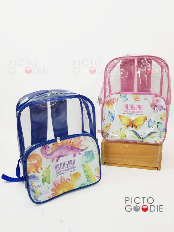 Tas Ransel Mika - Makassar - Animal Watercolour