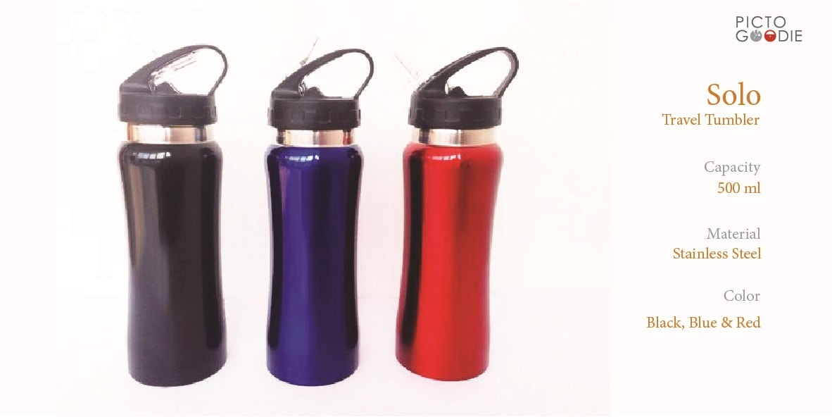 Solo Travel Tumbler