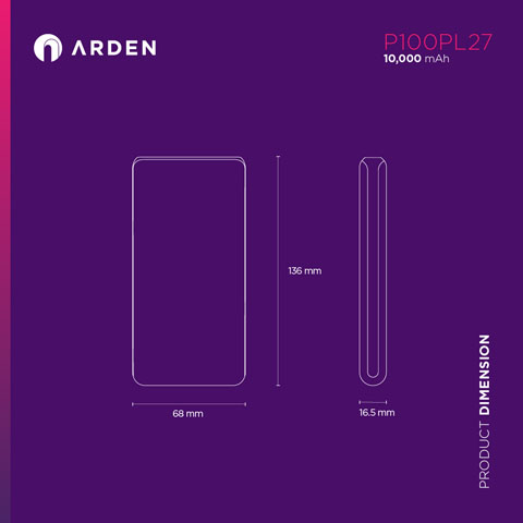 Power Bank - P100PL27 (3)