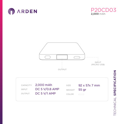 Power Bank - P20CD03 (4)