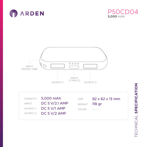 Power Bank - P50CD04 (4)