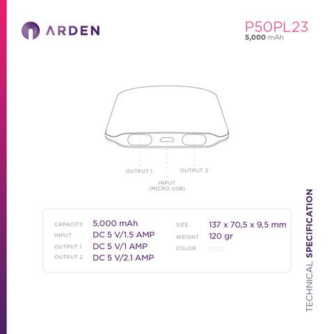 Power Bank - P50PL23 (4)