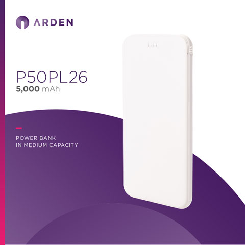 Power Bank - P50PL26 (1)
