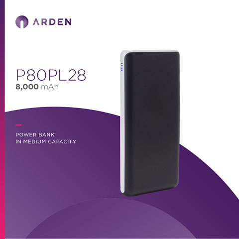 Power Bank - P80PL28 (1)