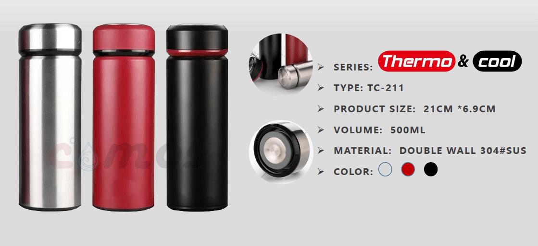 Brave Vacuum Tumbler - Termos