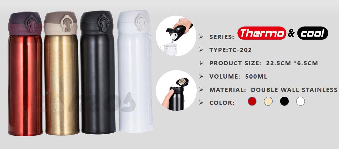 Roxy Vacuum Tumbler - Termos