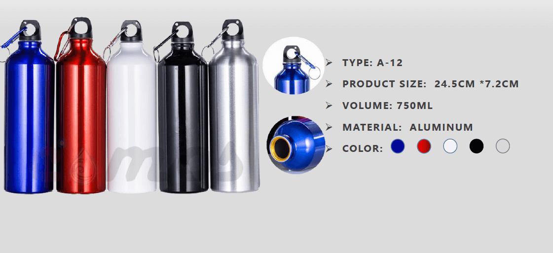 Sport - 750ml (Tumbler Aluminium)