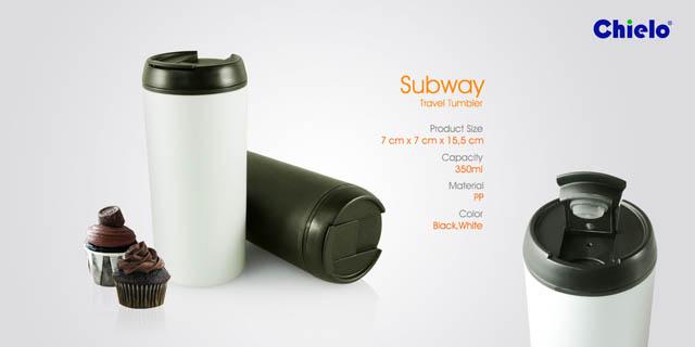 Subway Travel Tumbler