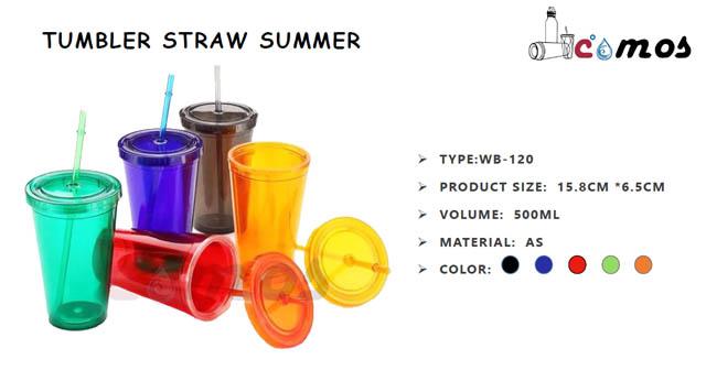 Tumbler Straw Summer